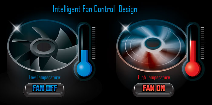 Fan Stop 風扇暫停功能節能又保護風扇