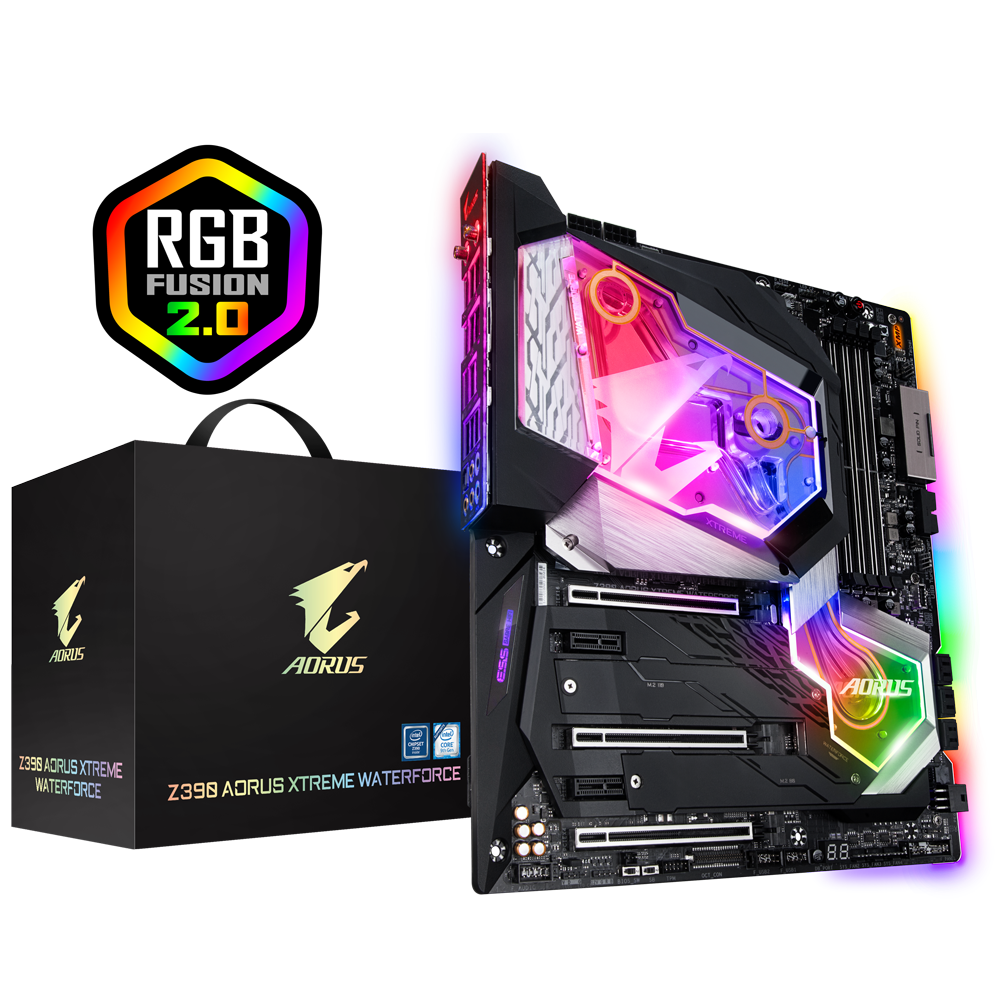 Z390 AORUS XTREME WATERFORCE