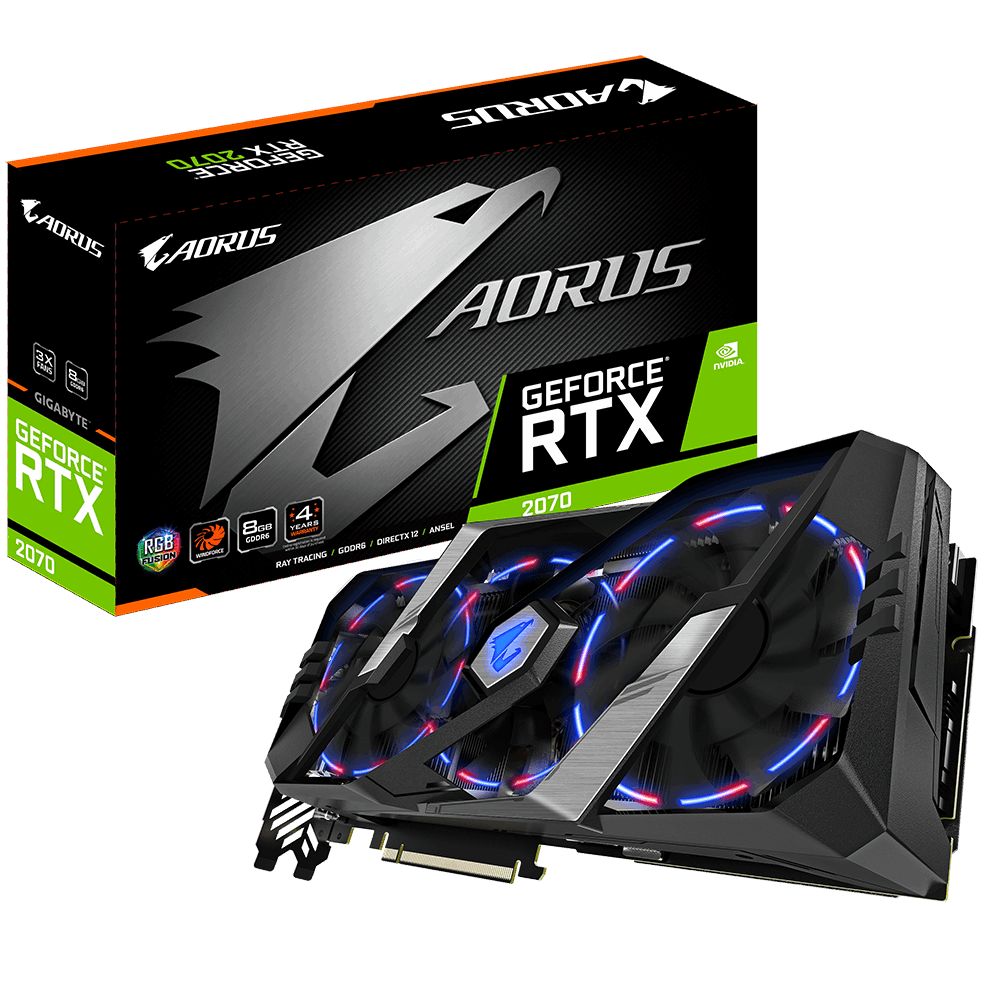 AORUS GeForce RTX™ 2070 8G