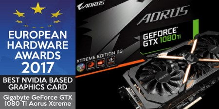 AORUS GTX 1080 Ti Xtreme Edition Wins European Hardware Awards 2017